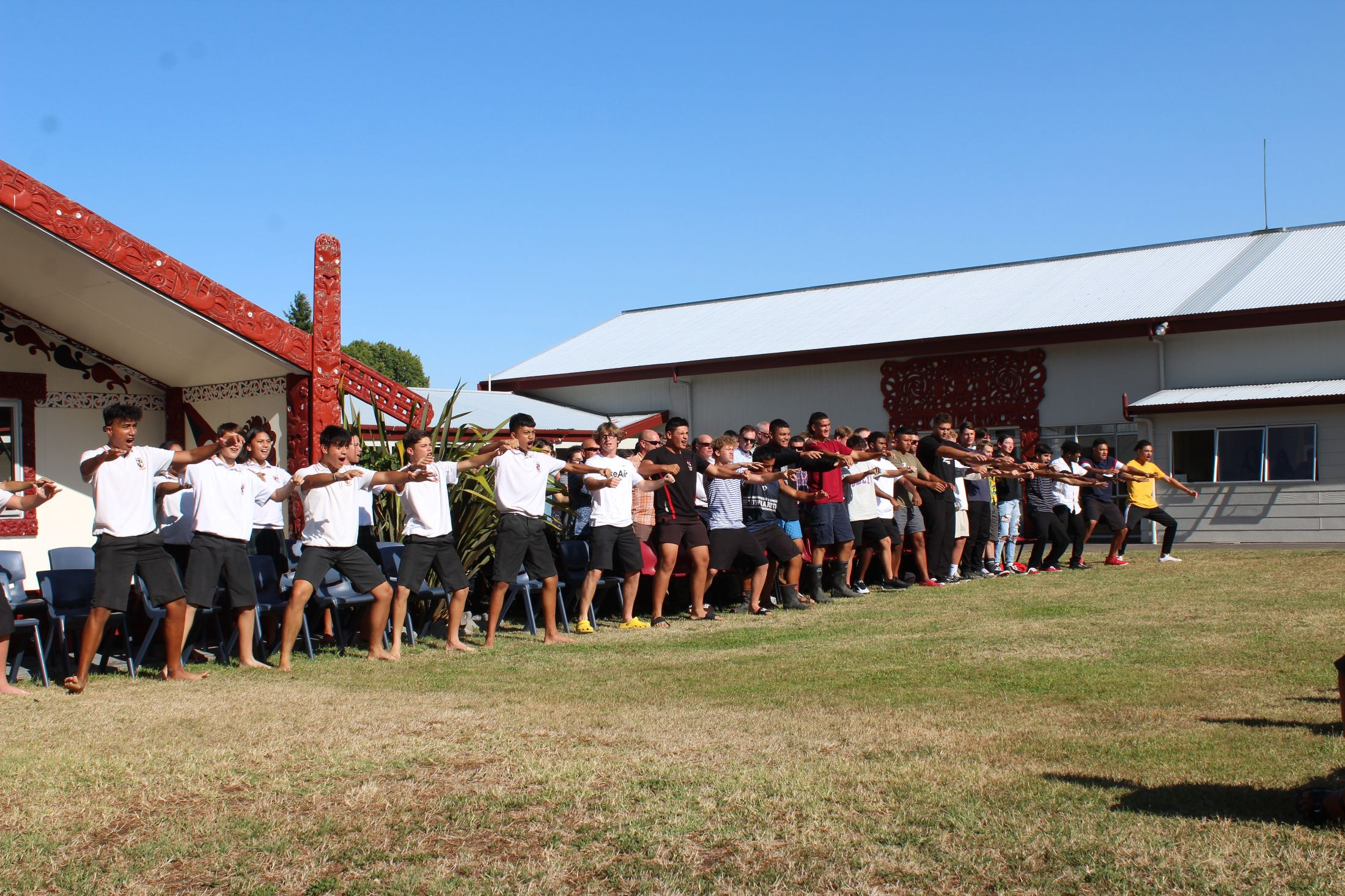 Powhiri to welcome Year 9 Students - Wednesday 3 February 8.40am at the marae