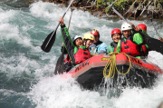 Licence to Work students brave the rapids!