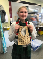 Y10 Fashion and Textiles class give back
